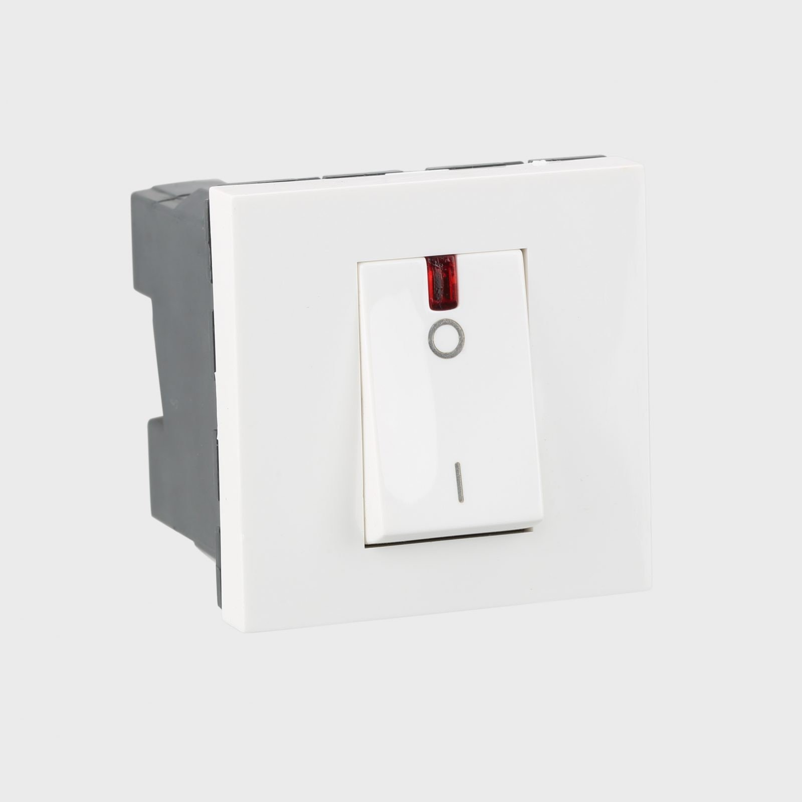 Arteor - 1-way double pole switch with indicator  2 module~5734 12